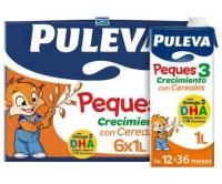 LECHE PEQUES 3 CRECIMIENTO CON CEREALES PULEVA 1L