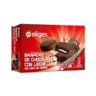 GALLETAS DE CHOCOLATE CON LECHE RELLENA CREMA IFA 252 GR