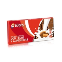 CHOCOLATE CON LECHE Y ALMENDRAS IFA ELIGES 150 GR