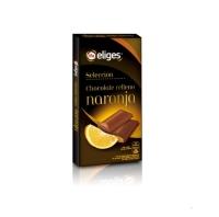 CHOCOLATE RELLENO DE NARANJA IFA ELIGES 100 GR