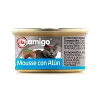 ALIMENTO GATOS MOUSSE ATUN 85 GR  IFA AMIGO