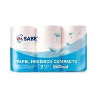 PAPEL HIGI  NICO 12 R  AZUL COMPACTO IFA SABE
