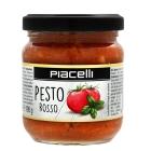 SALSA PESTO ROJO 190 G  PIACELLI