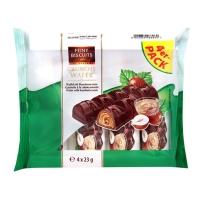 BARRITAS CHOCOLATE RELLENO CREMA PACK4