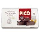 TURRON DE CHOCOLATE AL WHISKY PICO 200 GR
