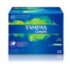 TAMPAX SUPER COMPAK 22 UND