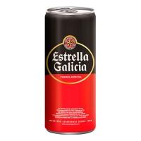 CERVEZA ESTRELLA GALICIA 24 LATAS 33 CL