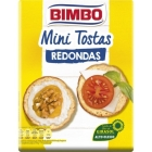 MINI TOSTAS REDONDAS BIMBO 100 GR
