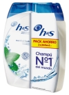 CHAMP   H S ANTICASPA MENTOL 2x360 ML