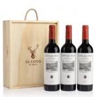 Vino tinto reserva D O Rioja Coto de Imaz 3 x 750 ml
