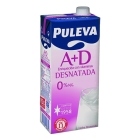 LECHE DESNATADA PULEVA 1 L