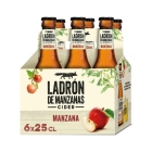 SIDRA LADRON DE MANZANAS 25 CL  P 6