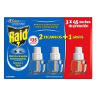 INSECTIZIDA RAID 2 RECAMBIOS   1 GRATIS