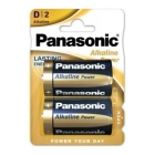 PILAS D2 ALKALINA POWER PANASONIC