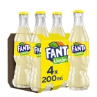 REFRESCO DE LIM  N FANTA 200 ML  PACK 4 BOTELLINES