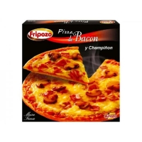 PIZZA BACON Y CHAMPI  ONES FRIPOZO 390 GR