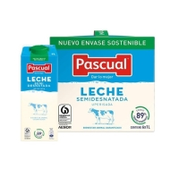 LECHE SEMIDESNATADA PASCUAL 1 L