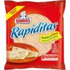 TORTILLAS DE TRIGO RAPIDITAS 8 UNIDADES BIMBO