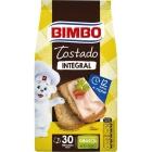 PAN TOSTADO 100   INTEGRAL BIMBO 270 GR