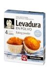 LEVADURA EN POLVO CARMENCITA 4 SOBRES DE 15 GR