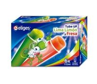 HELADO TUBE UP LIMA LIMON Y FRESA IFA ELIGES 6 X 115 ML