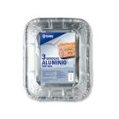 BANDEJA DE ALUMINIO CON TAPA 1 5 L IFA SABE 3 uds