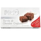 TURRON DE CHOCOLATE CRUJIENTE SIN AZUCAR PICO 200 GR