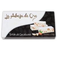 TURRON DURO DE CACAHUETE LA ABEJA DE ORO 200 GR