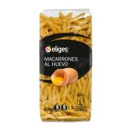 MACARRONES AL HUEVO IFA ELIGES 500 GR