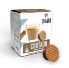 CAFE CORTADO ESPRESSO MACCHIATO JURADO 16 CAPSULAS