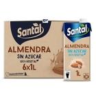 BEBIDA DE ALMENDRAS SIN AZUCAR SANTAL 1L