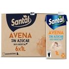 BEBIDA DE AVENA SIN AZUCAR SANTAL 1L