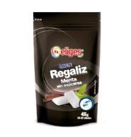 CHICLE DE REGALIZ MENTA SIN AZ  CARES IFA ELIGES 37 CHICLES