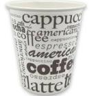 VASO CARTON CAFE CON LECHE 240 ML  50 UNIDADES TP