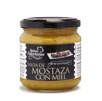 SALSA DE MOSTAZA Y MIEL GRAN SELECCION GOURMET 210 GR
