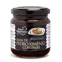 SALSA DE PEDRO XIMENEX Y PASAS GRAN SELECCION GOURMET 215 GR
