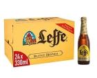 CERVEZA LEFFE BLONDE 33 CL  PACK 24