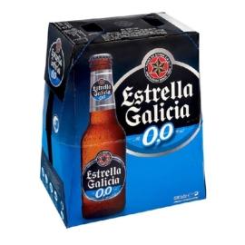 CERVEZA ESTRELLA GALICIA 0 0 25 CL  P 6