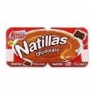 NATILLAS DE CHOCOLATE 2 UNIDEADES DE 135 GR  KALISE