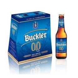 CERVEZA SIN ALCOHOL 0 0 BUCKLER 25 CL  PACK 6