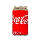 COCA COLA SIN CAFE  NA LATA 33 CL