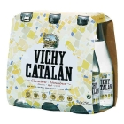 AGUA CON GAS VICHY CATALAN 250 ML  PACK 6 BOTELLINES