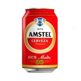 CERVEZA AMSTEL 33 CL CAJA DE 24 LATAS