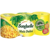 MAIZ DULCE PACK 3 BONDUELLE 150 G