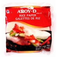 OBLEAS DE ARROZ 22 CM  AROY D 454 GR