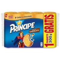GALLETAS PR  NCIPE RELLENA DE CHOCOLATE PAQUETE 4 UD  1 2 KG