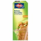 BOLSAS BOCADILLO CON CIERRE 50 UND  ALBAL