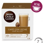 DOLCE GUSTO CAFE C  LECHE 16 CAP