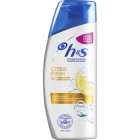 CHAMP   ANTICASPA CABELLOS GRASOS CITRUS FRESH H S 400 ML
