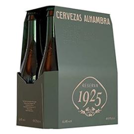 CERVEZA ALHAMBRA RESERVA 1925 33 CL  PACK 6